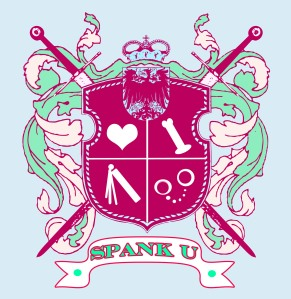 spank university crest